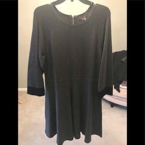 New Vince Camuto gray sweater dress sz XL